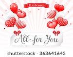 vector eps 10. sale   design... | Shutterstock .eps vector #363641642