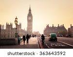 Westminster Bridge At Sunset ...
