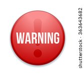 warning sign button | Shutterstock . vector #363643682