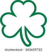 Three Leaf Clover Free Vector Art 5855 Free Downloads