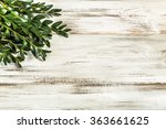 easter boxwood as easter symbol ... | Shutterstock . vector #363661625