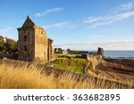 st andrews castle ruins  fife ...