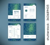 business report template with...