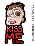 Kiss Me Message