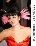 Small photo of Lily Allen attends the EE British Academy Film Awards 2014 at The Royal Opera House on February 16, 2014 in London.