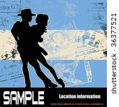 argentine tango | Shutterstock .eps vector #36377521