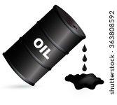 vector illustration of oil...   Shutterstock .eps vector #363808592