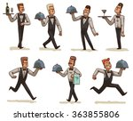 vector cartoon image of a set... | Shutterstock .eps vector #363855806