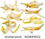 large yellow enamel stockpot... | Shutterstock . vector #363859022