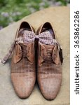 mans leather classic shoes | Shutterstock . vector #363862286