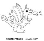 dragon | Shutterstock .eps vector #3638789