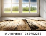 window and table  | Shutterstock . vector #363902258