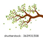 vector illustration of tree... | Shutterstock .eps vector #363931508