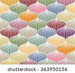 abstract vector seamless... | Shutterstock .eps vector #363950156