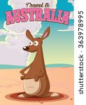 Travel To Australia Kangaroo.