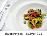 roasted vegetables with herbs | Shutterstock . vector #363984728