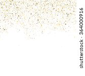golden glitter shine texture on ... | Shutterstock .eps vector #364000916