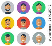 people flat icons collection | Shutterstock . vector #364015742