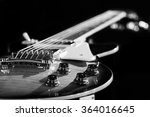 Electric Guitar Isolated On A...