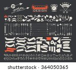 big object symbols set for all... | Shutterstock .eps vector #364050365