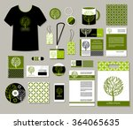 tree logo  corporate identity... | Shutterstock .eps vector #364065635