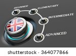 english language courses ... | Shutterstock . vector #364077866