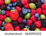 Berries Background Macro ...