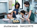 Happy Family Cooking Biscuits...
