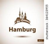 Hamburg Germany. City Skyline...