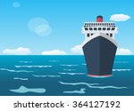 cruise ship  holiday concept | Shutterstock .eps vector #364127192