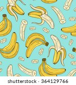 vector seamless pattern with... | Shutterstock .eps vector #364129766