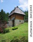 an old house in sirogojno... | Shutterstock . vector #36413443