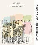 ulcinj  montenegro  europe.... | Shutterstock .eps vector #364164362