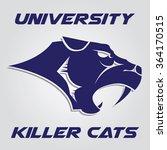 wildcat logo   Shutterstock .eps vector #364170515