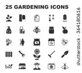 Gardening Icons Set. Gardening...