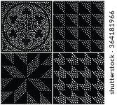 vector abstract geometric... | Shutterstock .eps vector #364181966