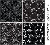vector abstract geometric... | Shutterstock .eps vector #364181972