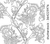 seamless ethnic pattern. asian... | Shutterstock . vector #364225976