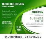 professional business design... | Shutterstock .eps vector #364246232