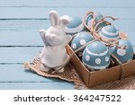 easter concept with colorful... | Shutterstock . vector #364247522