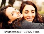 Girl Hugging Her Best Friend....