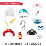 accessories for different... | Shutterstock .eps vector #364282196