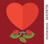 Lady Bug Happy Valentine