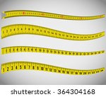 tape measures  measuring tapes | Shutterstock .eps vector #364304168