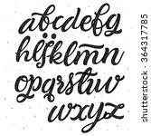 hand lettering and custom... | Shutterstock .eps vector #364317785