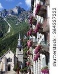 Chamonix Mont Blanc Village ...