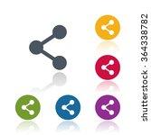 share icon | Shutterstock .eps vector #364338782