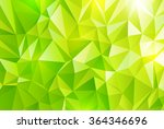 abstract polygonal background | Shutterstock .eps vector #364346696