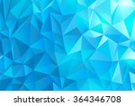abstract polygonal background | Shutterstock .eps vector #364346708