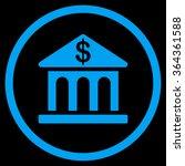 bank building vector icon.... | Shutterstock .eps vector #364361588